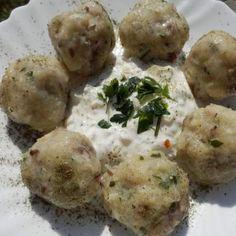 Recept Chlupaté houbové knedlíky od lussy - Recept z kategorie Hlavní jídla - ostatní