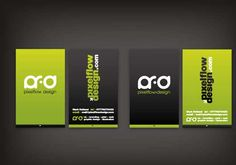 Begin Creativity Through Vertical Business Cards