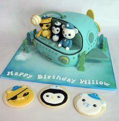 Octonauts Cake and cookies
