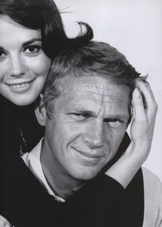 Nathalie Wood & Steve McQueen