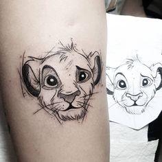 Lyric Tattoos, King Tattoos, Disney Sleeve Tattoos, Disney Tattoos, Tattoo Sketches, Tattoo Drawings, Kawaii Tattoo, Light Tattoo, Tattoo Project