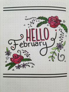 Hello February #hello #february #bujo #hellofebruary
