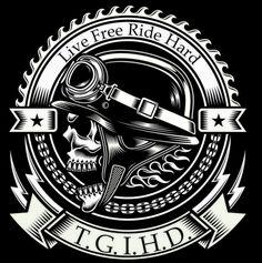 free biker alliance 36 - Google Search Harley Davidson, Ink Logo, Bike Tattoos, Sky Bar, Biker Shirts, Geniale Tattoos, Cult, Skull Art, Logos