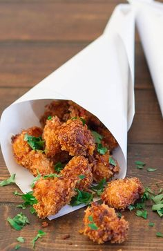 Chipotle Popcorn Chicken – I think I will try this and leave them in chicken strips.. & bake instead of fry!