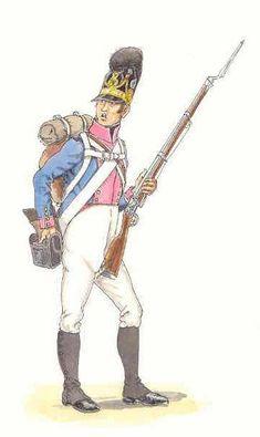 Fusilier du 7e régiment Löwenstein-Wertheim (1811)