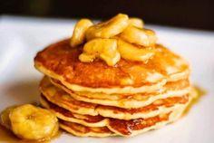 Pfannkuchen aus Quark und Bananen Rezept-dekoking-com