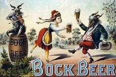 Art Print Bock Beer Celebration 28x42 New DB-35192