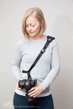 There's a very short list of things that every single photographer should definitely have for their camera, but a camera strap is on that list! Best Camera Strap, Camera Straps, Best Digital Camera, Digital Slr, Best Cameras For Travel, Cheap Cameras, Make Money Today, Wide Angle Lens, Photography Equipment