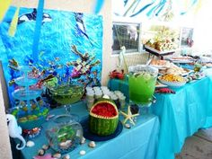 under-the-sea theme party