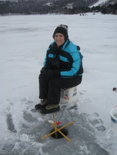ice fishing :)