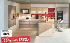 kikaLeiner Küchenmöbel Angebot: Vonderstedt Einbauküche Lavis