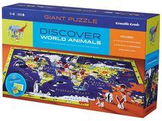 Discovery Puzzle - svět / world   - KidTown