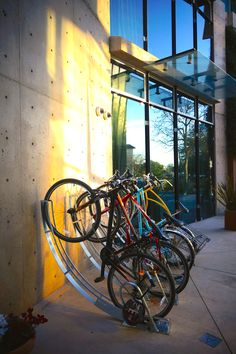 Rack by Bike Arc. Visit the slowottawa.ca boards >> https://www.pinterest.com/slowottawa/
