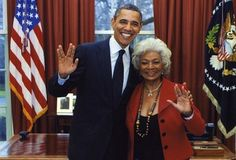 Obama is a trekkie. Any Surprise here?