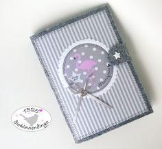 Mutterpasshüllen - Mutterpasshülle aus Filz Flamíngo - ein Designerstück von…