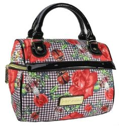 Betsey Johnson Blooming Springs Cargo Lunch Tote 22 99