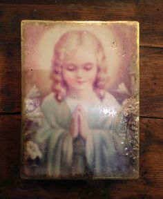 Sid Dickens Memory Block T-328 Sweet Prayer A wish for peace borne of a pure heart.