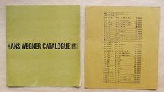 ハンス ウェグナー展 デンマーク家具インテリアのすべて <展覧会パンフレット> / 日本の古本屋