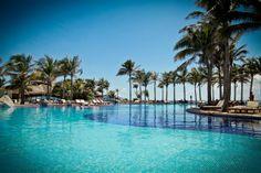 Soak up the sun at the #OasisCancun pool during #Springbreak...Oasis Loves U