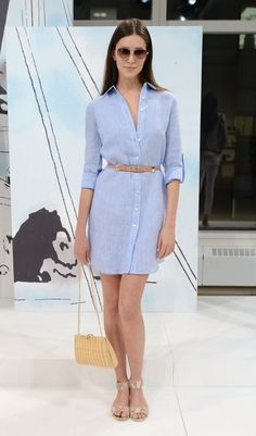 Vestidos Camiseros de Moda Cool Summer Outfits, Stylish Outfits, Cool Outfits, Denim Shirt Dress Outfit, Cute Fashion, Fashion Outfits, Short, Casual Chic, Casual Looks