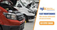 NPBC has the expertise, facilities and equipment to provide Fleet Service and Maintenance to companies with a wide range of passenger and commercial vehicles, specialist equipment and trucks. Vehicles we service and repair include Isuzu, Hino, Canter, Transit, Sprinter, Crafter, Transporter.