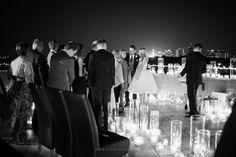 rooftop wedding ceremony  fot. Kinga Herok