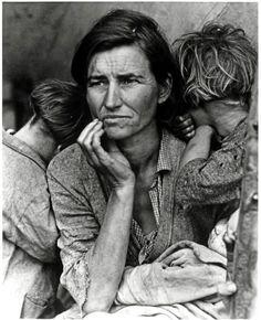 Migrant Mother-Dorothea Lange-visual rhetoric