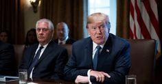 President Trump said that he wasnt angry at anybody and that investigations into his campaigns links to Russia had not come near him personally. by MAGGIE HABERMAN and PETER BAKER - Source: The New York Times #viralnewsportal #viral #trending