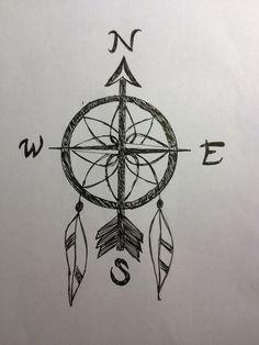 Dreamcatcher compass