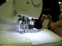 Shreveport Sewing Center, LA - Serger Bias Binding Tutorial
