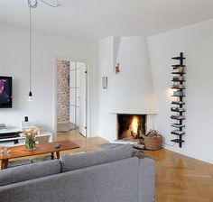 Most current Images round Corner Fireplace Tips Spot fireplaces give assortment …, – Round Carpet Room Outdoor Living Rooms, Small Living Rooms, New Living Room, Living Room Decor, Small Fireplace, Home Fireplace, Living Room With Fireplace, Fireplace Ideas, Corner Fireplaces