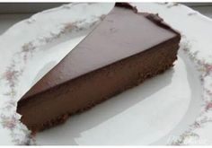 Pear And Chocolate Cake, Chocolate Sweets, Chocolate Cheesecake, Delicious Chocolate, Czech Desserts, German Baking, Czech Recipes, Desert Recipes, Cheesecake Recipes