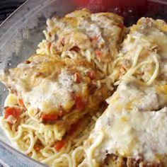 Baked Spaghetti I #AmericasFarmers