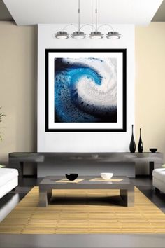 Commissions available Wave Abstract Art Surf Art Ocean
