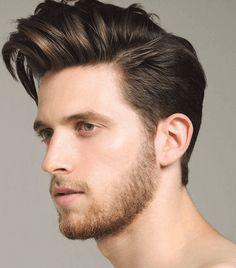 メンズ前髪長めショートヘア