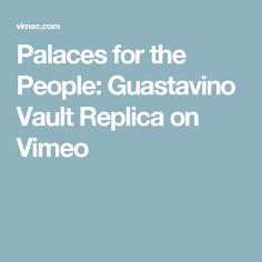 Palaces for the People: Guastavino Vault Replica on Vimeo