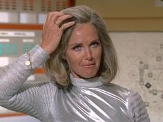 "UFO 1 x 16 ""The Man Who Came Back"" Wanda Ventham as Col Virginia Lake"