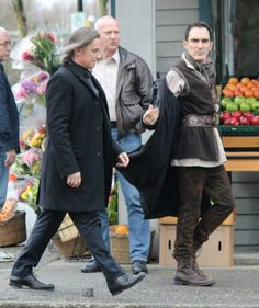 "Robert Carlyle in Fort Langley - 4 * 19 "" lily "" 19th February 2015"