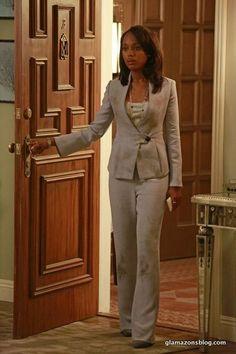 Scandal Fashion Recap: Olivia Pope's Armani Suit