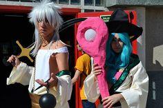 Cosplay Sharrkan y Yamuraiha de Magi: The Labyrinth of Magic [manga/anime]