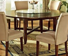 confortable round dining room tables #36200