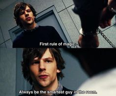 I love love love this movie! Now you see me