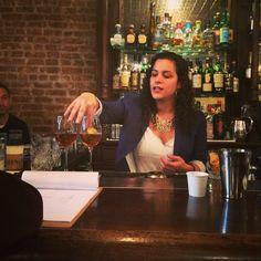 Andrea Tateosian created La Espina with Manzanilla Sherry for the 2014 #SherryCocktailComp