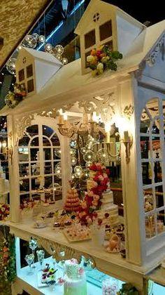 Candy bar. Wedding decor.Victorian style.