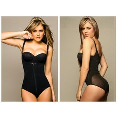 Ann Cherry 1042 Powernet Body Shaper Kelly