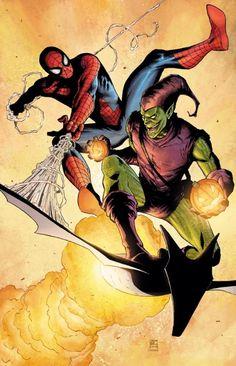 Spider-Man vs. Green Goblin by Khoi Pham