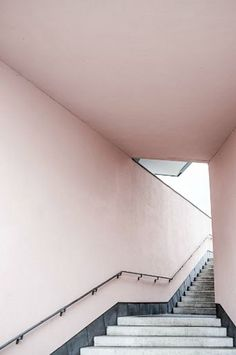 FOR YOUR WALLS: PINK STAIRS PRINT