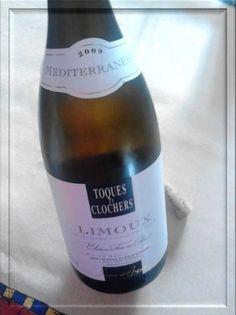 AOC Limoux Sieur d'Arques Limoux Toques et Clochers Chardonnay Mediterraneen 2009... ufa!