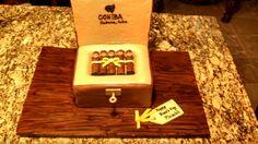Cigar Cake - 100% Delicious Vanilla & Chocolate Cake