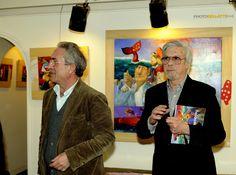 (on a left) Giuseppe Antonio Procopio (aka Pino Procopio), born In Guardavalle In 1954.